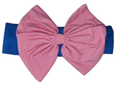 Butterfly Love Bow MATCHING Boutique Fabric Hairband Headband