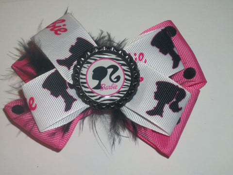Hairbow Doll Boutique Hair  Bow HB142 CLEARANCE