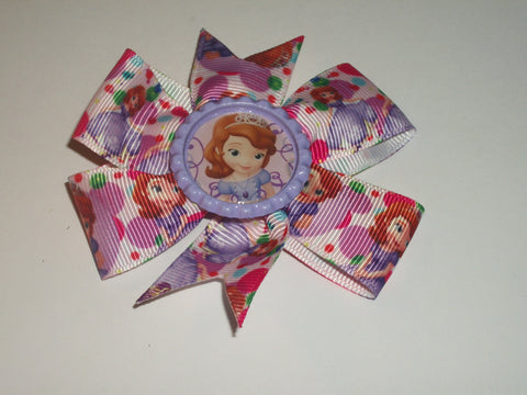 Princess Boutique Hair  Bow HB198 CLEARANCE