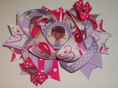 Princess Boutique Hair  Bow HB200 CLEARANCE