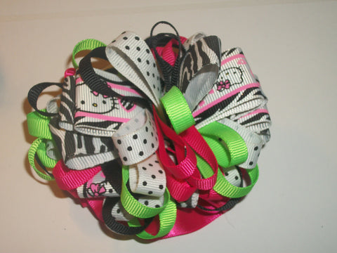 Kitty Boutique Hair  Bow HB225