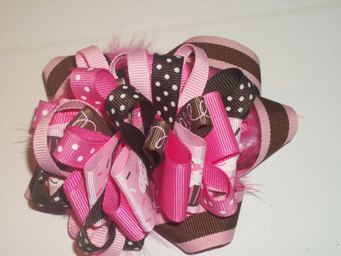 Hairbow Candy Boutique Hair  Bow HB244 CLEARANCE