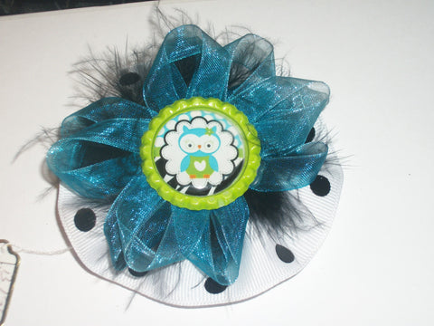Owls Boutique Hair Bow HB254