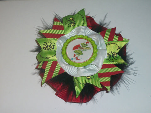 Dr Seuss Boutique Hair Bow HB266