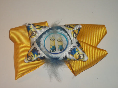 Min1ons Boutique Hair Bow HB280