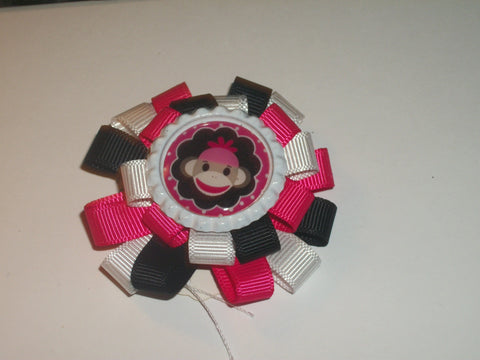 Monkey  Boutique Hair Bow HB287