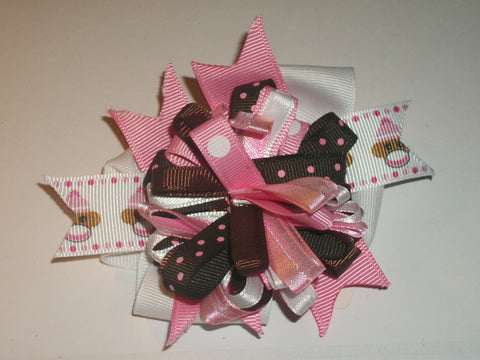 Monkey  Boutique Hair Bow HB288