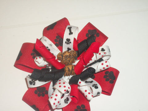 Dog Boutique Hair Bow HB290 Clearance