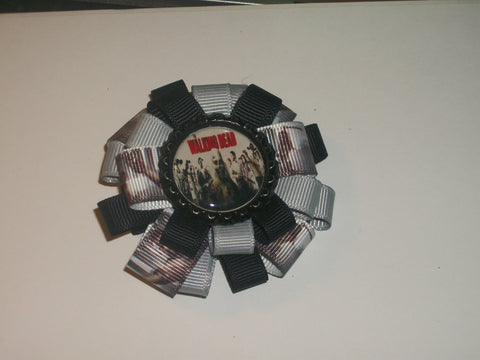 Zombie Boutique Hair Bow HB293