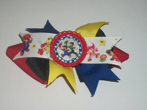 Video Games Boutique Hair  Bow HB319
