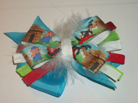 3 Piggys Boutique Hair Bow HB327