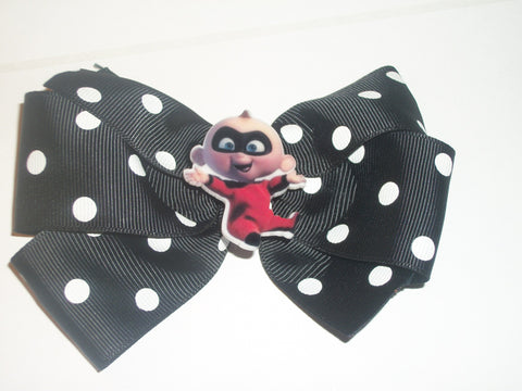 Super Hero Baby Jack Boutique Hair  Bow HB361