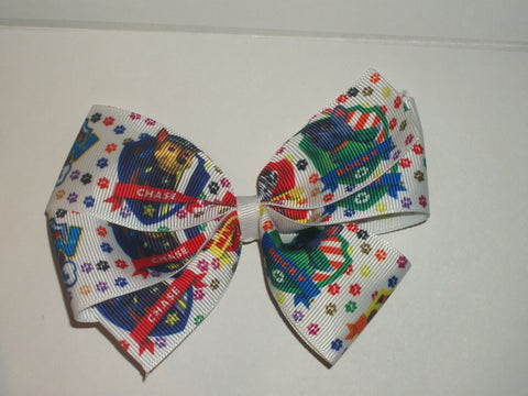 Dogs paw cartoon Boutique Hair Bow HB385