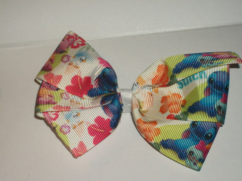 Blue Alien Boutique Hair Bow HB388