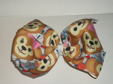 Bears Boutique Hair Bow HB395 Teddy