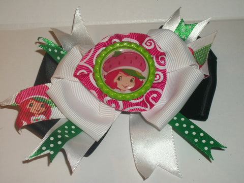 Hairbow Strawberry Boutique Hair Bow HB77 CLEARANCE