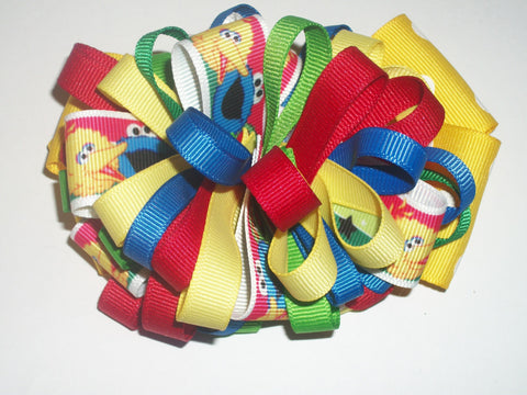 Sesame Street Boutique Hair  Bow HB98
