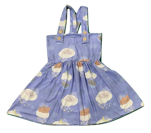 Suspender Sleepy Puppys Jumper Skirt Dress Designed by @Beeandbatwingz
