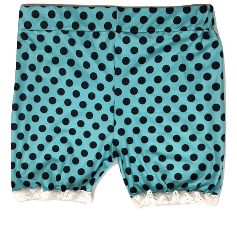 DISCONTINUED Kitty Cat Polka Dots Ruffles Matching Bloomers Shorts Clearance