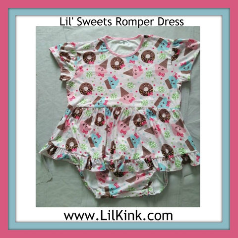 Lil' Sweets Romper Bodysuit Dress