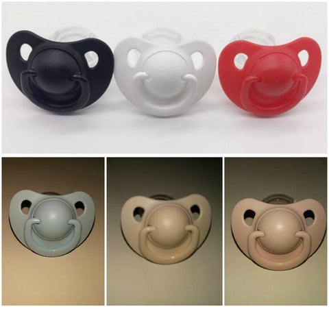 Adult Sized Silicone Pacifier/Dummy Style #2