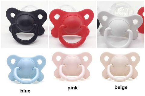 Adult Sized Silicone Pacifier/Dummy Style #3