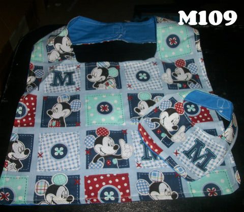 MOUSE Stuffy & Me Bib SET MB109