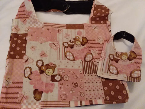Bears Stuffy & Me Bib SET MB174