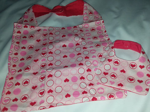Hearts Stuffy & Me Bib SET MB193
