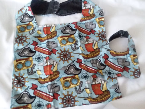 Pirates STUFFY & ME BIB SET MB211