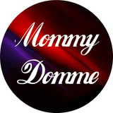 ABDL MOMMY DOMME Lifestyle Boutique GLASS Pendant Necklace