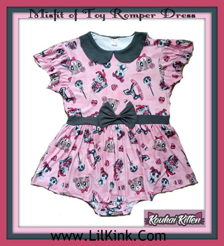 Misfit of Toys Romper Dress * New Size Chart