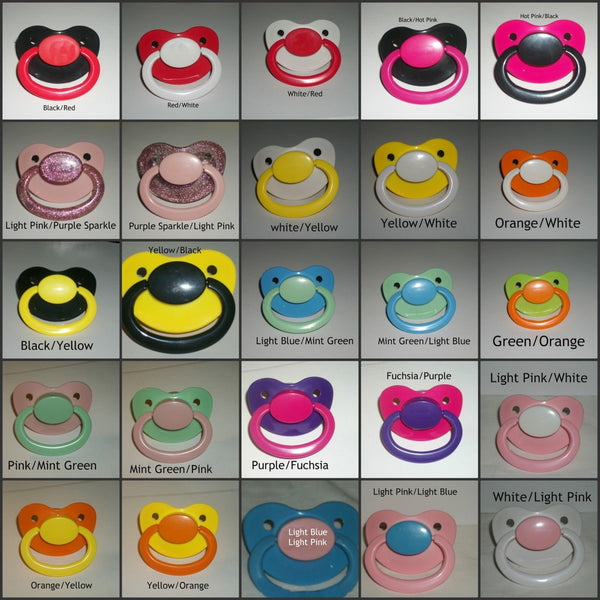Large Adult Adultbaby ABDL Custom Pacifier CP58 PRINCESS