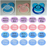 Custom Names Pacifiers