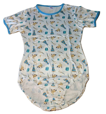 DISCONTINUED Vintage Toys Short Sleeve Onesie Clearance