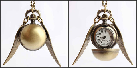 Harry Potter Necklace Pocket Watches NW104