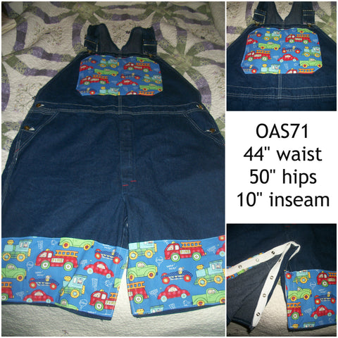 OAS71 Car's & Trucks SHORTALLS