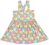 DISCONTINUED Suspender WEE LIL OWL Jumper Skirt Dress Clearance