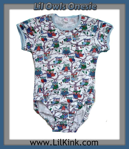 Onesie Discontinued Short Sleeve Lil Owls Onesie Clearance