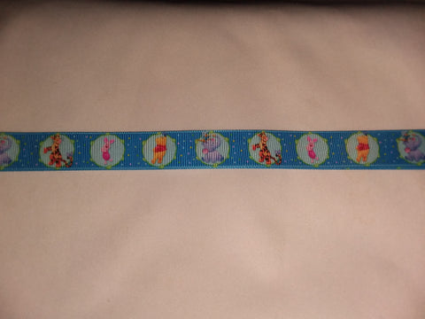 "Bear & Friends PB Hand Crafted Pacifier Dummy Clip - 11""-12"" pc1818"
