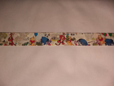 "Bear & Friends PB Hand Crafted Pacifier Dummy Clip - 11""-12"" pc1819"