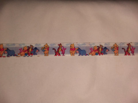 "Bear & Friends PB Hand Crafted Pacifier Dummy Clip - 11""-12"" pc1820"