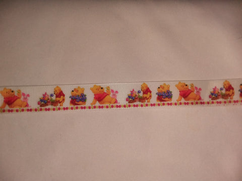 "Bear & Friends PB Hand Crafted Pacifier Dummy Clip - 11""-12"" pc1822"