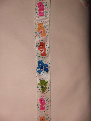 "BEARS Rainbow Hand Crafted Pacifier Dummy Clip - 11""-12"" pc1825"