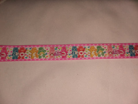 "BEARS Rainbow Hand Crafted Pacifier Dummy Clip - 11""-12"" pc1826"