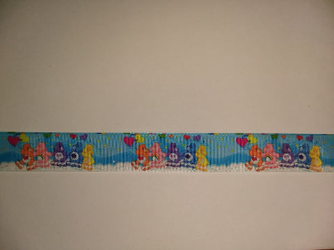 "BEARS Rainbow Hand Crafted Pacifier Dummy Clip - 11""-12"" pc1830"