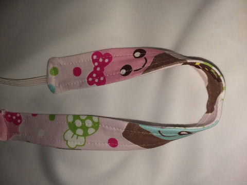 LIL' SWEETS Matching Fabric Pacifier Clips Clearance