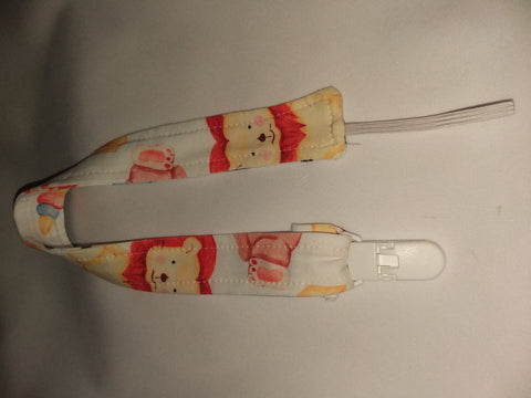 "Play Time Matching Fabric Pacifier Clips - 17"" pc1888"