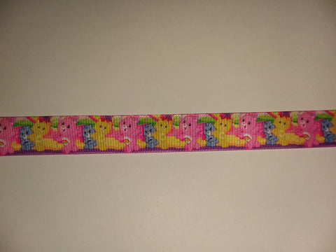 "BEARS Rainbow Hand Crafted Pacifier Dummy Clip - 11""-12"" pc404"