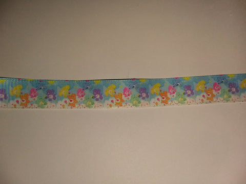 "BEARS Rainbow Hand Crafted Pacifier Dummy Clip - 11""-12"" pc405"